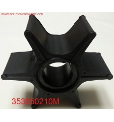 353650210M Impeller 45A2, 50C, 55B, 60A, 70A & 70A2 2-stroke models 2-Stroke models NISSAN/TOHATSU