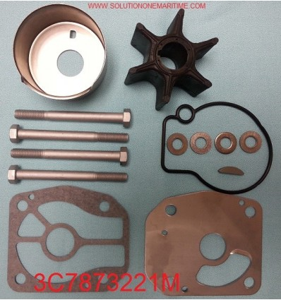 3C7873221M Water Pump Kit  70 HP - 115 HP TLDI & 115, 125 & 140  2-Stroke models NISSAN/TOHATSU
