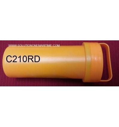 Achilles Emergency Repair Kit Hypalon (CSM) Red/Black C210RD