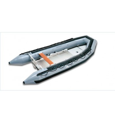 SU-14 Work Boat Model Orange  Hypalon