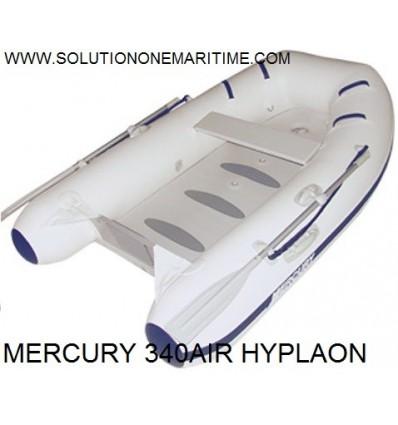 MERCURY 340 Airdeck 2016 Model White Hypalon