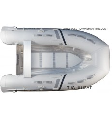 Tug Inflatable 10 Light PVC Aluminum Hull Free Shipping