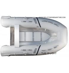 Tug Inflatable 10 Light PVC Aluminum Hull Free Shipping