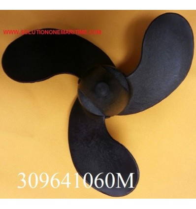 Tohatsu Nissan 2 - 3.5 HP Propeller 309641060M 5.7 Pitch Resin 3 Blade