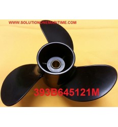 Tohatsu Nissan 4, 5 & 6 HP Propeller 393B645121M 6 Pitch Aluminum 3 Blade