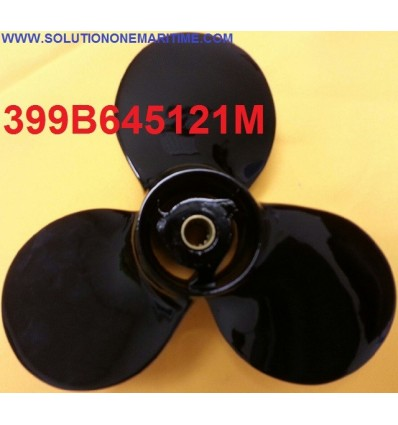 Tohatsu Nissan 4, 5 & 6 HP Propeller 399B645121M 5.999 Pitch Aluminum 3 Blade