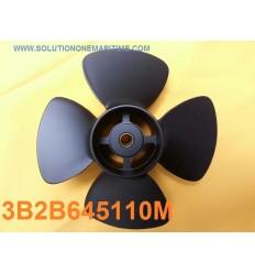 Tohatsu Nissan 8 & 9.8 HP Propeller 3B2B645110M 5 Pitch Aluminum 4 Blade