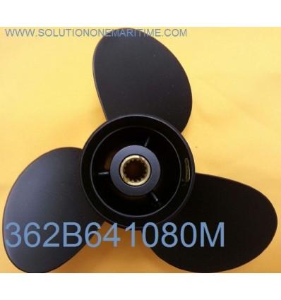 Tohatsu Nissan 9.9, 12, 15, 18 & 20 HP Propeller 362B641080M 10 Pitch Aluminum 3 Blade