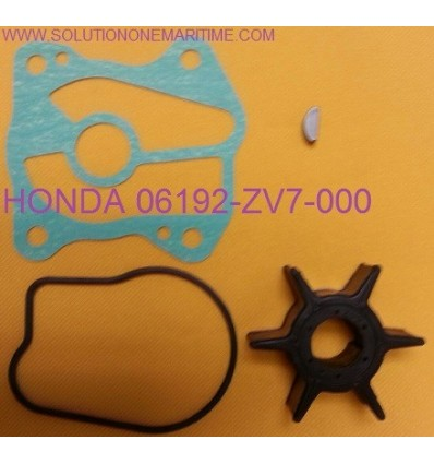 Water Pump Impeller Service Repair Kit for Honda BF25 BF30 06192-ZV7-000