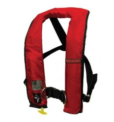 REVERE Inflatable PFD 61021 1F (AUTOMATIC activation) Harness RED