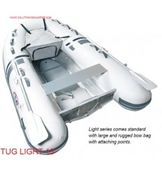 Tug Inflatable 13 Light Hypalon Aluminum Hull Free Shipping