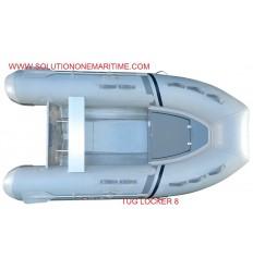 Tug Inflatable 8 Locker PVC Aluminum Hull Free Shipping
