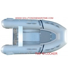 Tug Inflatable 10 Locker Hypalon Aluminum Hull Free Shipping