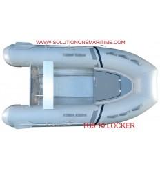 Tug Inflatable 10 Locker Hypalon Aluminum Hull Free Shipping