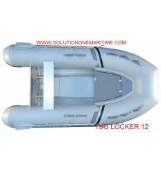 Tug Inflatable 12 Locker PVC Aluminum Hull Free Shipping