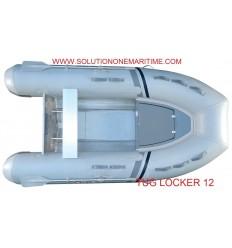 Tug Inflatable 12 Locker PVC Aluminum Hull Free Shipping