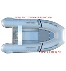 Tug Inflatable 13 Locker Hypalon Aluminum Hull Free Shipping