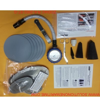 Zodiac Hurricane Major Emergency Repair Kit Hypalon Grey R-K-2002-ST-G