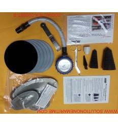 Zodiac Hurricane Major Emergency Repair Kit Hypalon Black R-K-2002-ST-B