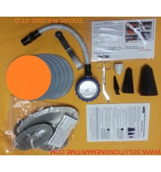 Zodiac Hurricane Major Emergency Repair Kit Hypalon Orange R-K-2002-ST-O