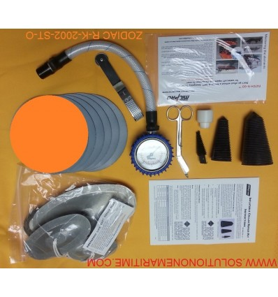 Zodiac Hurricane Major Emergency Repair Kit Hypalon Orange R-K-2002-ST-O