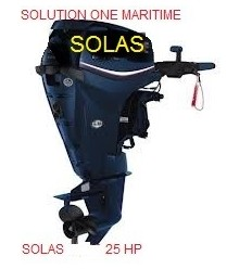 SOLAS Outboard  25 HP Free Shipping