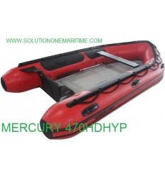 Mercury 470 Heavy Duty 2017 Model  Hypalon Free Shipping