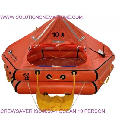 Crewsaver ISO9650-1 10 Person Over 24 Hour Valise 55-95073 FREE SHIPPING