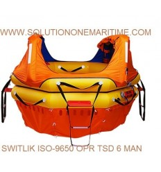 Switlik Offshore Passage Raft ISO-9650 6 PERSON ISO-OPR HD TSD Over 24 Hour Valise Free Shipping