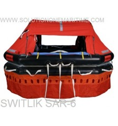 Switlik SAR-6 Raft 6 Person SAR-6100-137 Standard 5 year Service Container Free Shipping