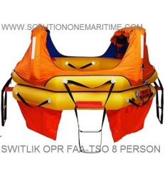 Switlik TSO Approved OPR Life Raft 8 Person w Part 91 Kit Valise Free Shipping