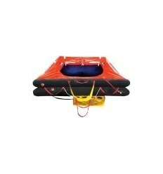 Ocean Master Life Raft 8 Person Container Round A PACK USCG SOLAS 50-R/R-8M-A-R