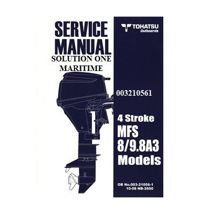 tohatsu outboard service manual four stroke 8 hp 9 8 hp a models rh solutiononemaritime com 9.8 Tohatsu Battery Cables 2013 Tohatsu 9.8