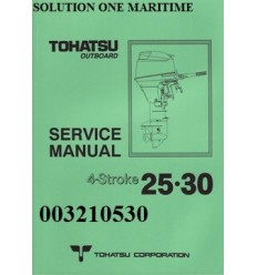 Tohatsu Outboard Service Manual Four Stroke 25 hp & 30hp A Model 003210530