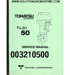Tohatsu Outboard Service Manual TLDI Two Stroke 40 HP & 50 HP A Models 003210500