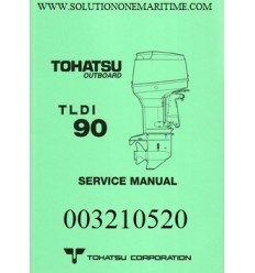 Tohatsu Outboard Service Manual TLDI Two Stroke 90 HP A Models 003210521