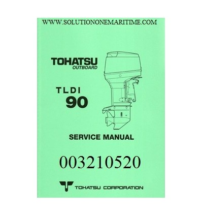 tohatsu outboard service manual tldi two stroke 90 hp a models 003210521 rh solutiononemaritime com 02 Mazda Protege5 Repair Manuals Truck Manual