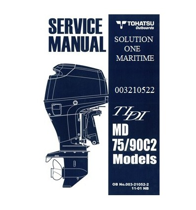 tohatsu outboard service manual tldi two stroke 75 hp 90 hp c2 rh solutiononemaritime com 12H802 Manual Downloadable Online Chevrolet Repair Manuals