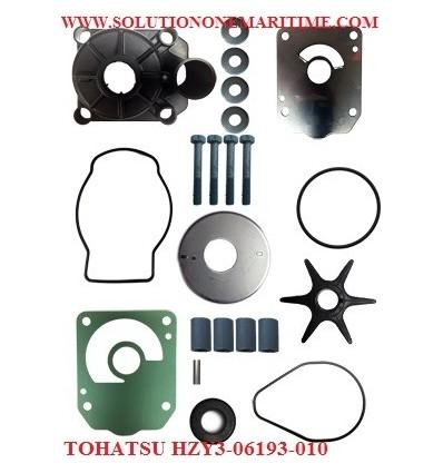 HZY3-06193-010  Water Pump Kit BFT200A & BFT225A 4-Stroke Model TOHATSU