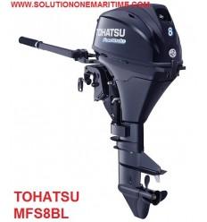 Tohatsu 8 HP 4-STK 2018 Long Shaft [MFS8BL] Free Shipping