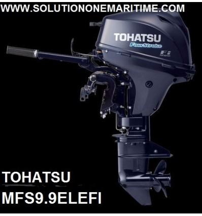 Tohatsu 9.9 HP 4-STK 2018 EFI Long Shaft [MFS9.9EL] Free Shipping