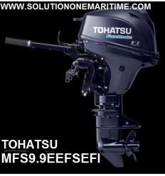 Tohatsu 9.9 HP 4-STK 2018 EFI Electric Tiller Short Shaft [MFS9.9EEFS] Free Shipping