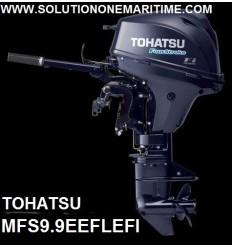 Tohatsu 9.9 HP 4-STK 2018 EFI Electric Tiller Long Shaft [MFS9.9EEFL] Free Shipping