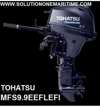 Tohatsu 9.9 HP 4-STK  EFI Electric Tiller Long Shaft [MFS9.9EEFL]