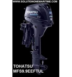 Tohatsu 9.9 HP 4-STK 2018 EFI Electric Tiller Power Tilt Ultra Long Shaft [MFS9.9EEFTUL] Free Shipping