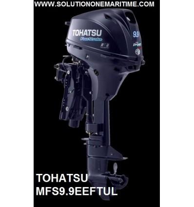 Tohatsu 9.9 HP 4-STK  EFI Electric Tiller Power Tilt Ultra Long Shaft [MFS9.9EEFTUL]