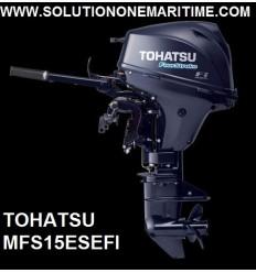 Tohatsu 15 HP 4-STK 2018 EFI Short Shaft [MFS15ES] Free Shipping