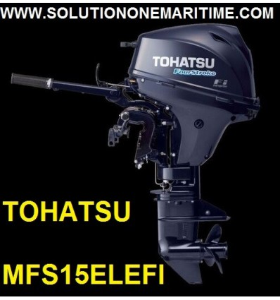 Tohatsu 15 HP 4-STK  EFI Long Shaft [MFS15EL]
