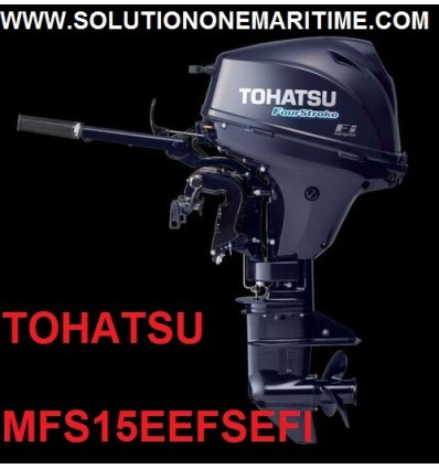 Tohatsu 15 HP 4-STK  EFI Electric Tiller Short Shaft [MFS15EEFS]