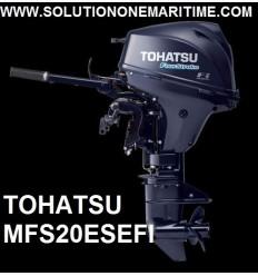 Tohatsu 20 HP 4-STK 2018 EFI Short Shaft [MFS20ES] Free Shipping